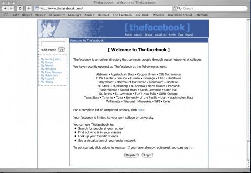 La historia de la publicidad en Facebook con el correr de los años.