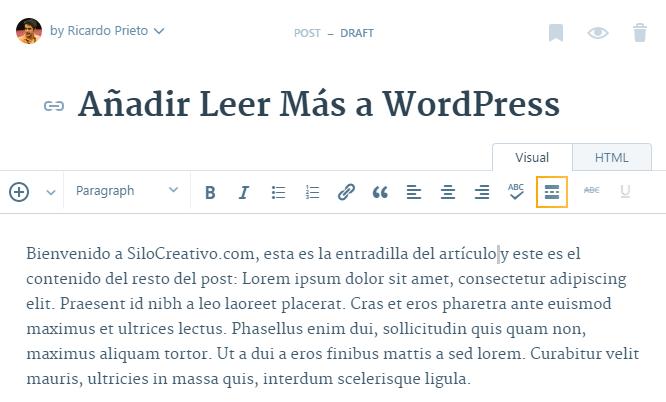 Añadir Leer Más en WordPress. Diferencias entre WordPress.org y WordPress.com